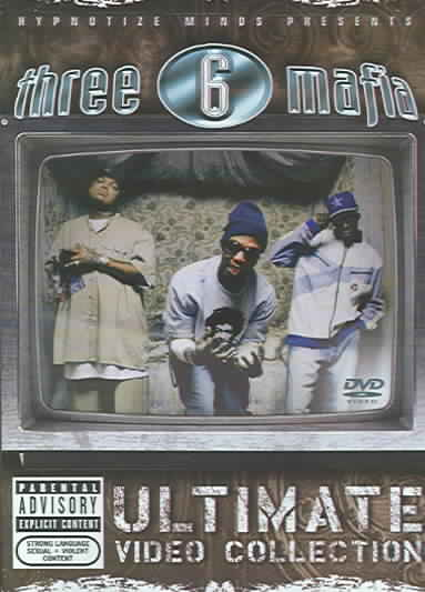 ULTIMATE VIDEO COLLECTION BY THREE 6 MAFIA (DVD)